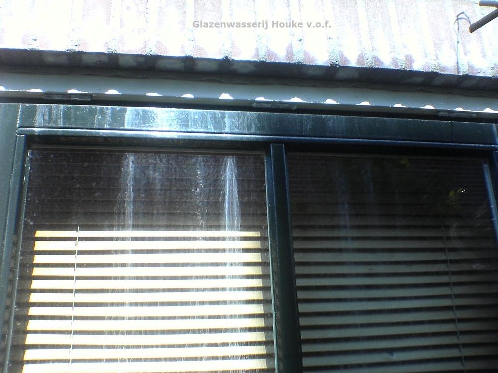 Cementsluier op het raam